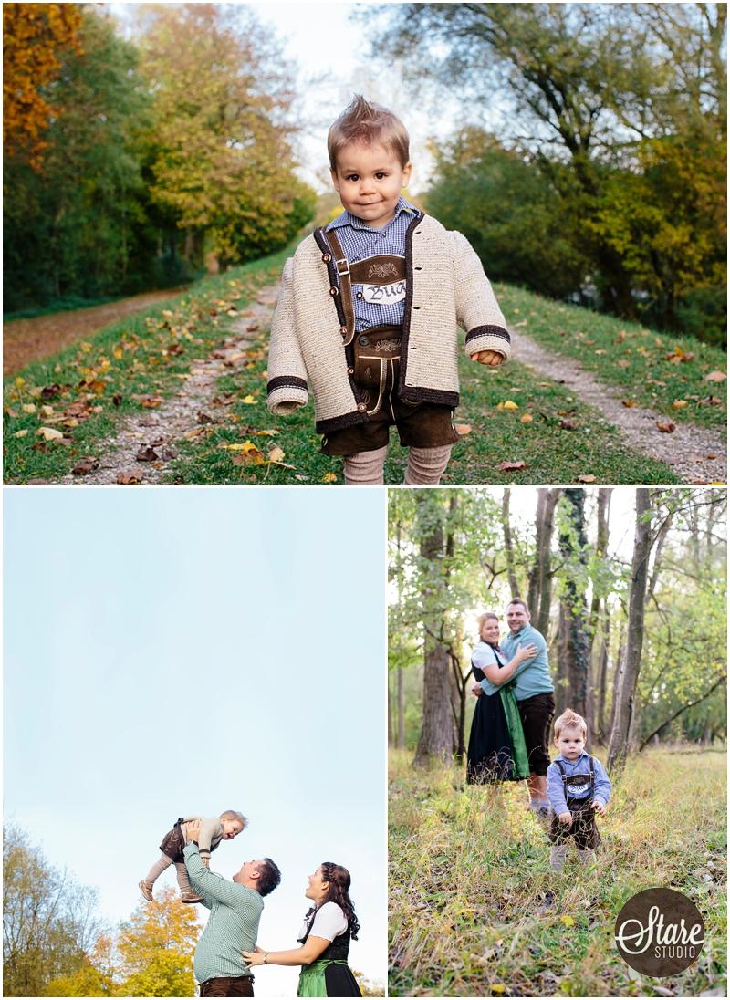 Frühling Familienfotos