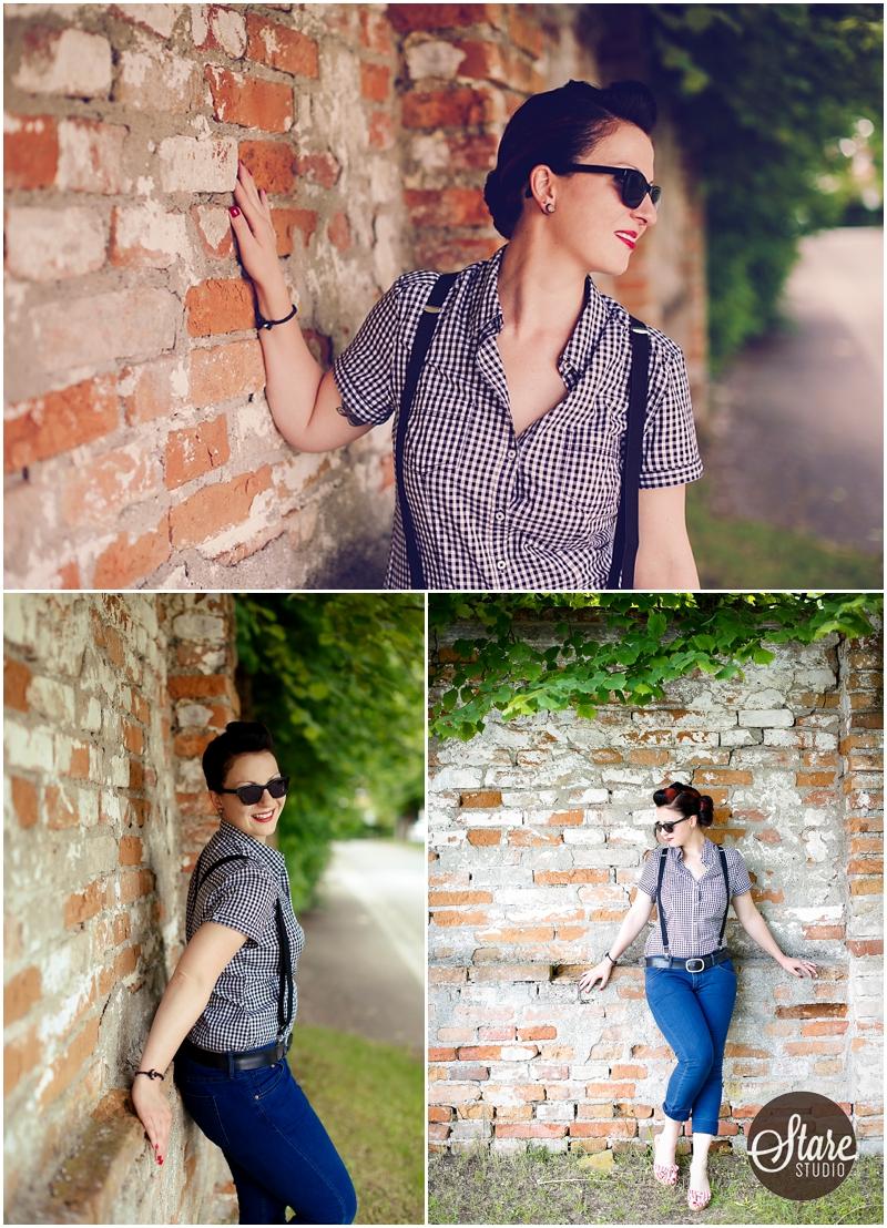 rockabilly Frau Fotos